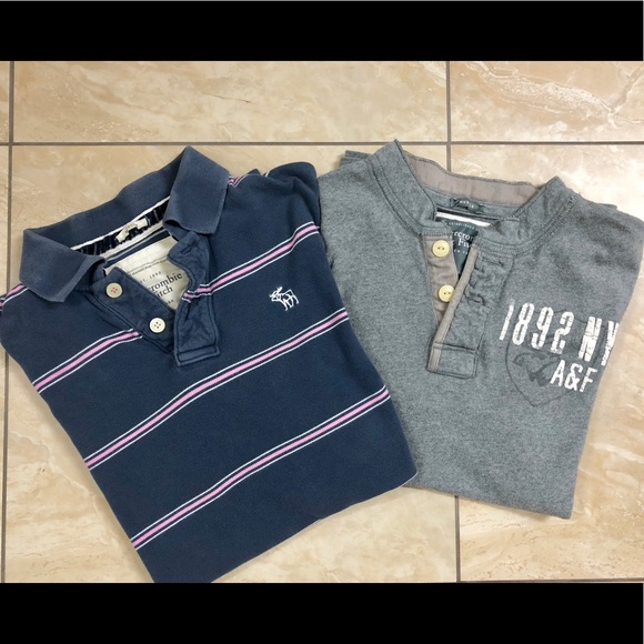 1b604c382 Abercrombie & Fitch Other - 2 for 1! Abercrombie & Fitch muscle tee & polo